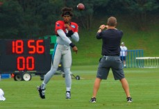 Cam gets loosened up.