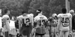 Wide Outs - Hogan. Moore. Wright. Samuel.